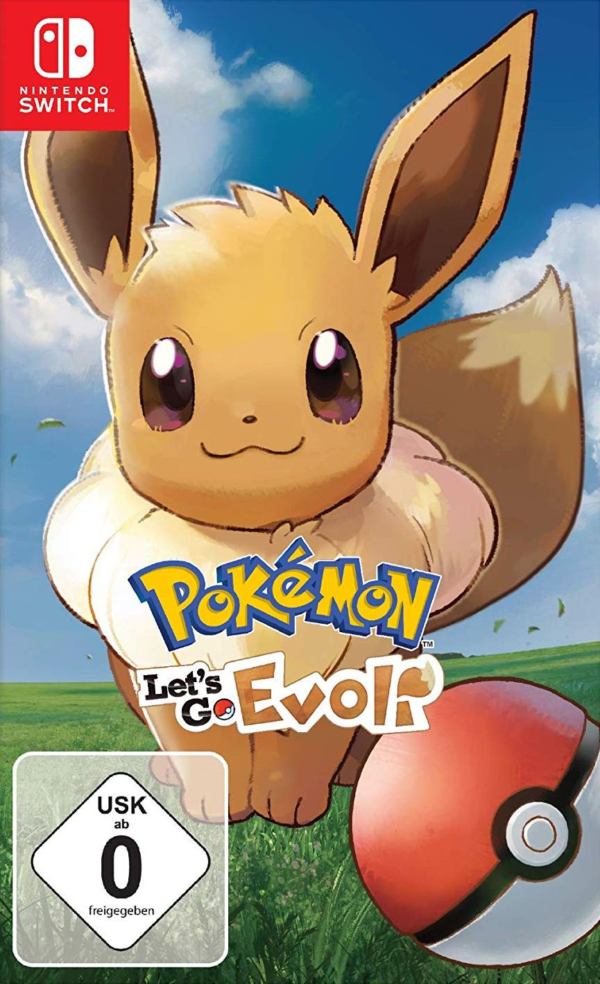 Pokemon: Lets Go, Evoli!