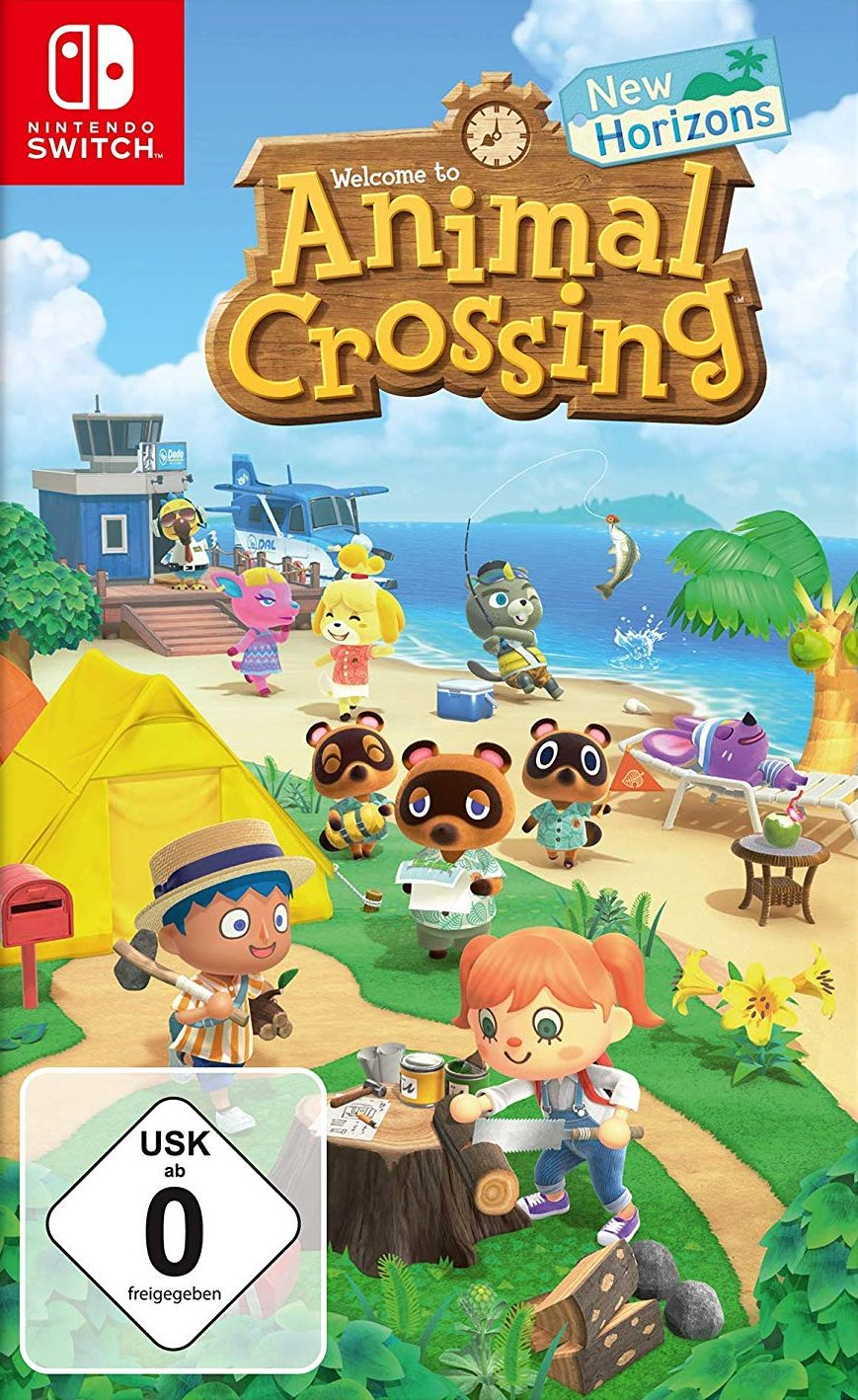 Animal Crossing: New Horizons (Code in a Box)