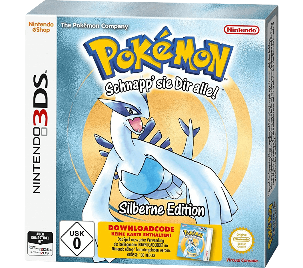 Pokémon Silberne Edition (Code in a Box)