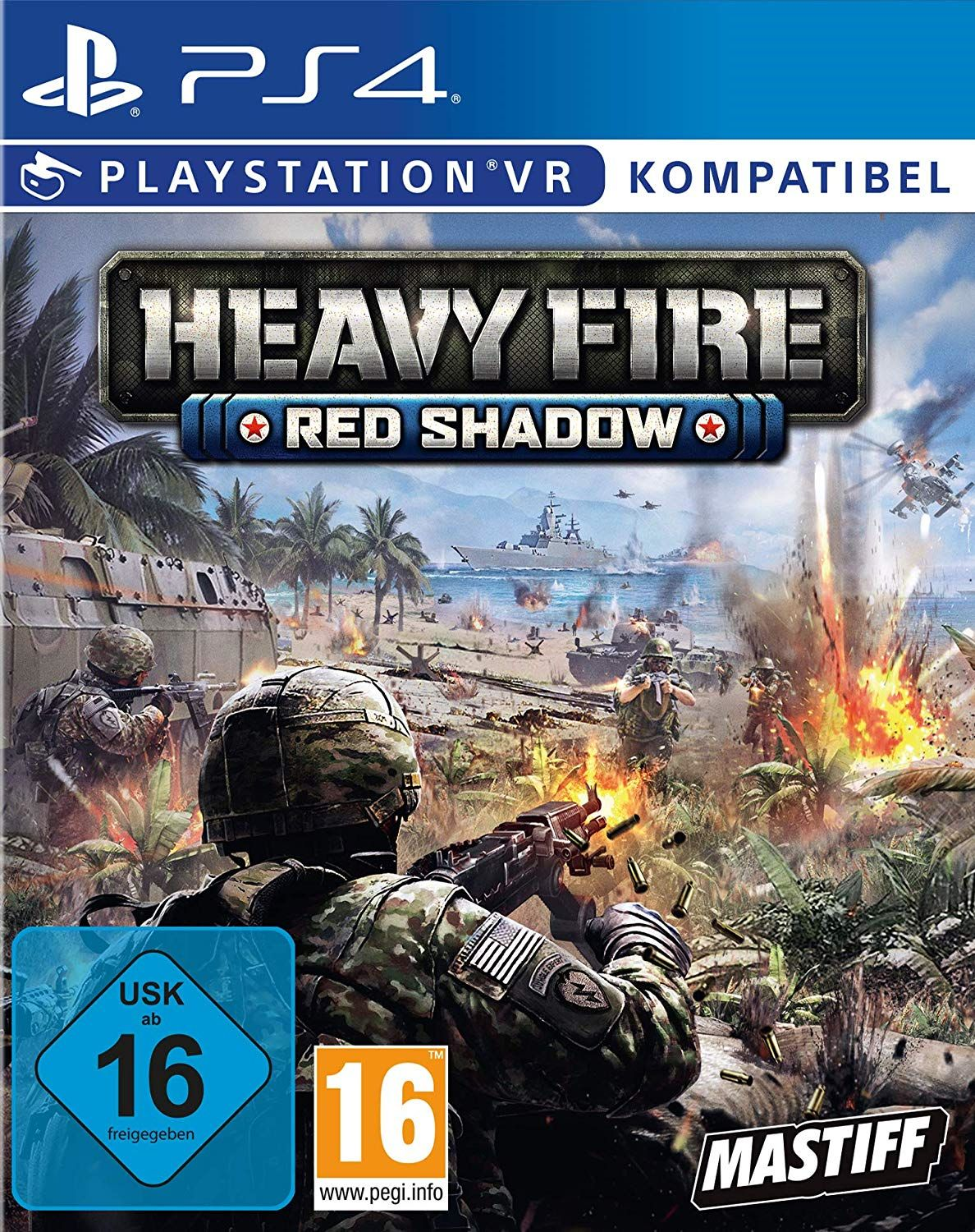 Heavy Fire Red Shadow (VR Only)