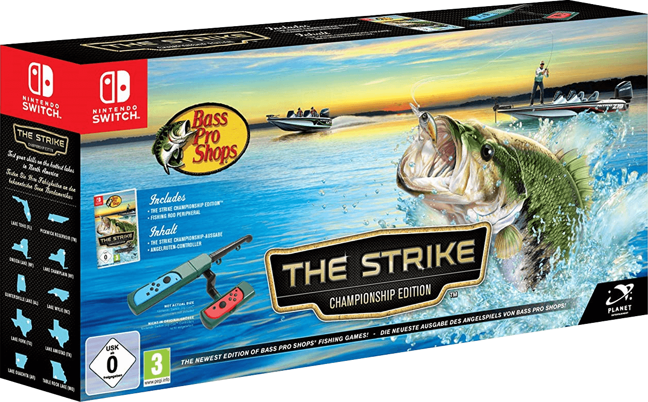 Bass Pro Shops: The Strike + Angel-Controller