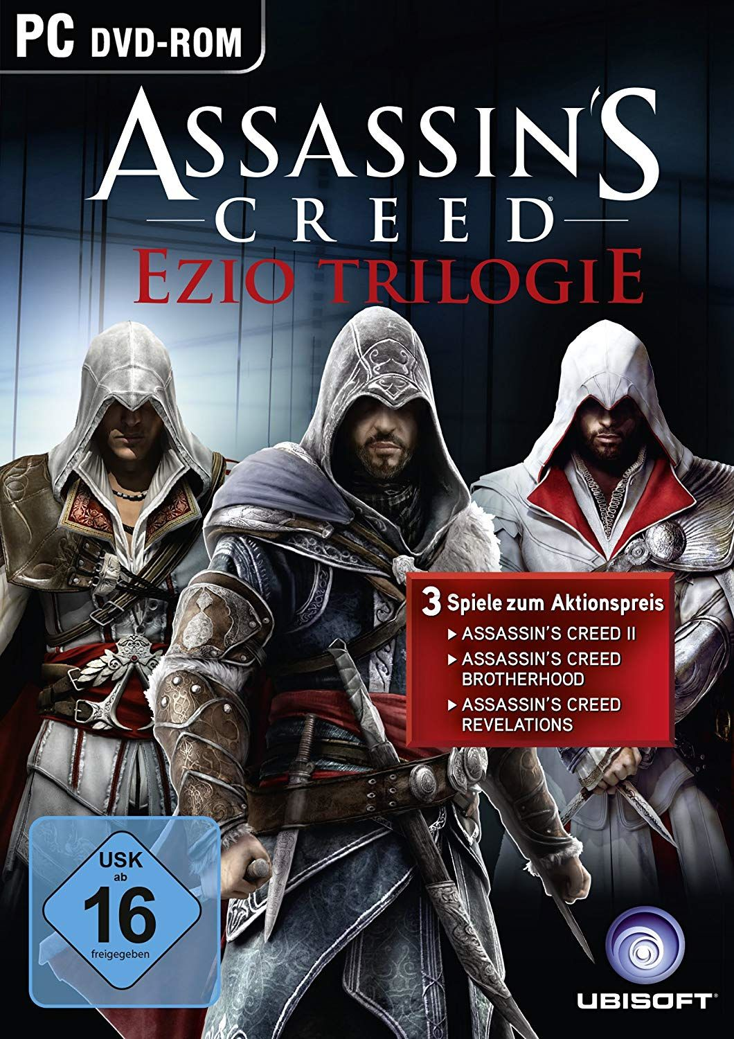Assassin´s Creed: Ezio Trilogie