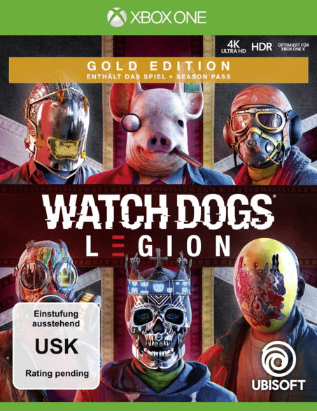 Watch Dogs Legion - Gold Edition
