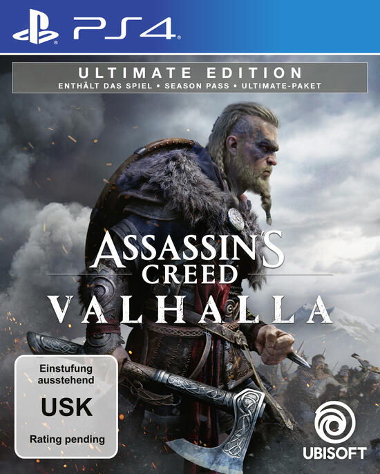 Assassin´s Creed Valhalla - Ultimate Edition - PS4