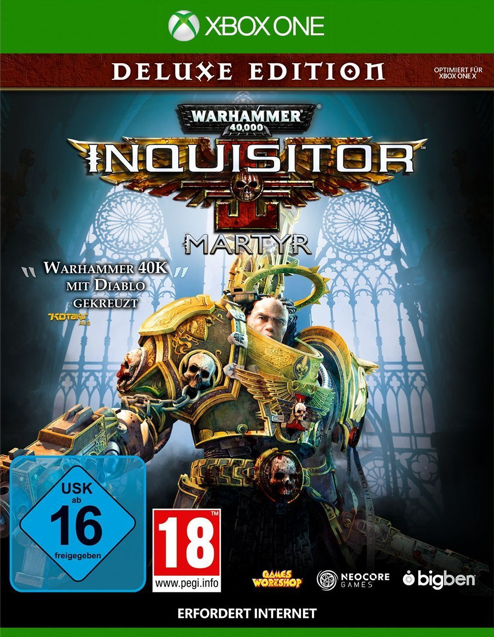 Warhammer 40.000: Inquisitor Martyr - DeLuxe Edition