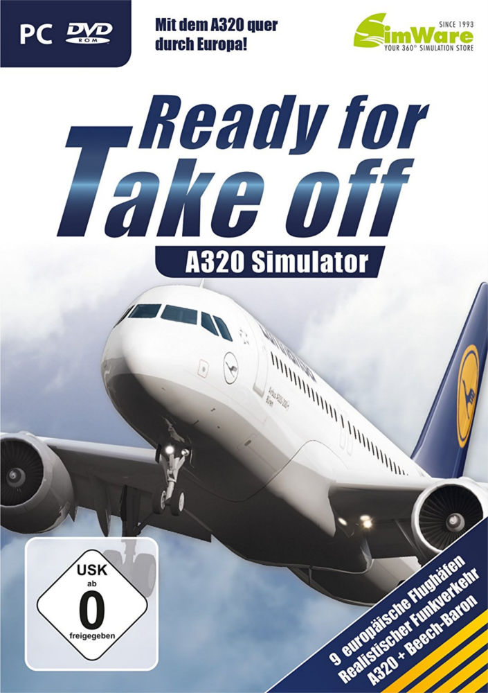 A320 Simulator: Ready for Take off