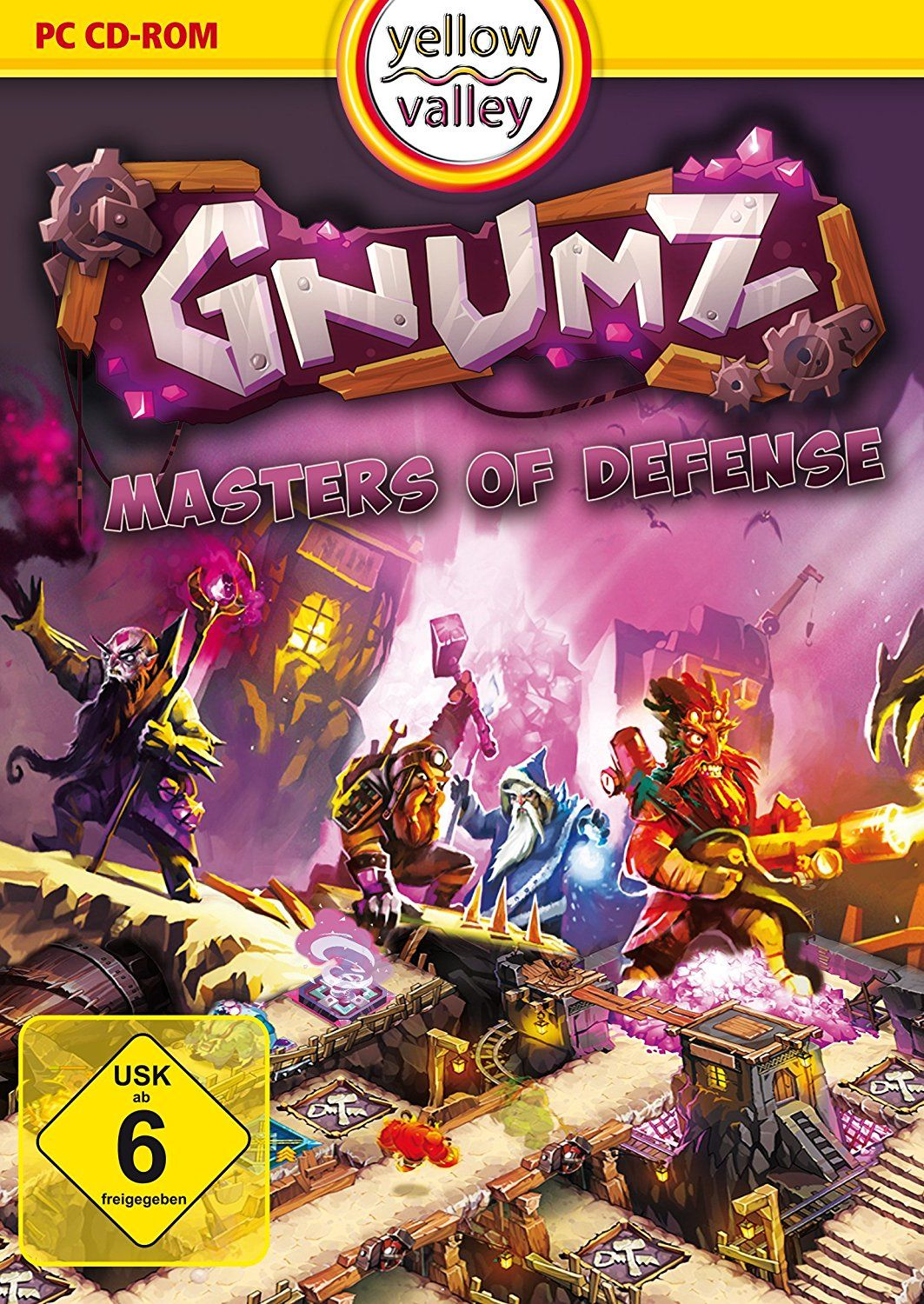 Gnumz: Master of Defense (Yellow Valley)
