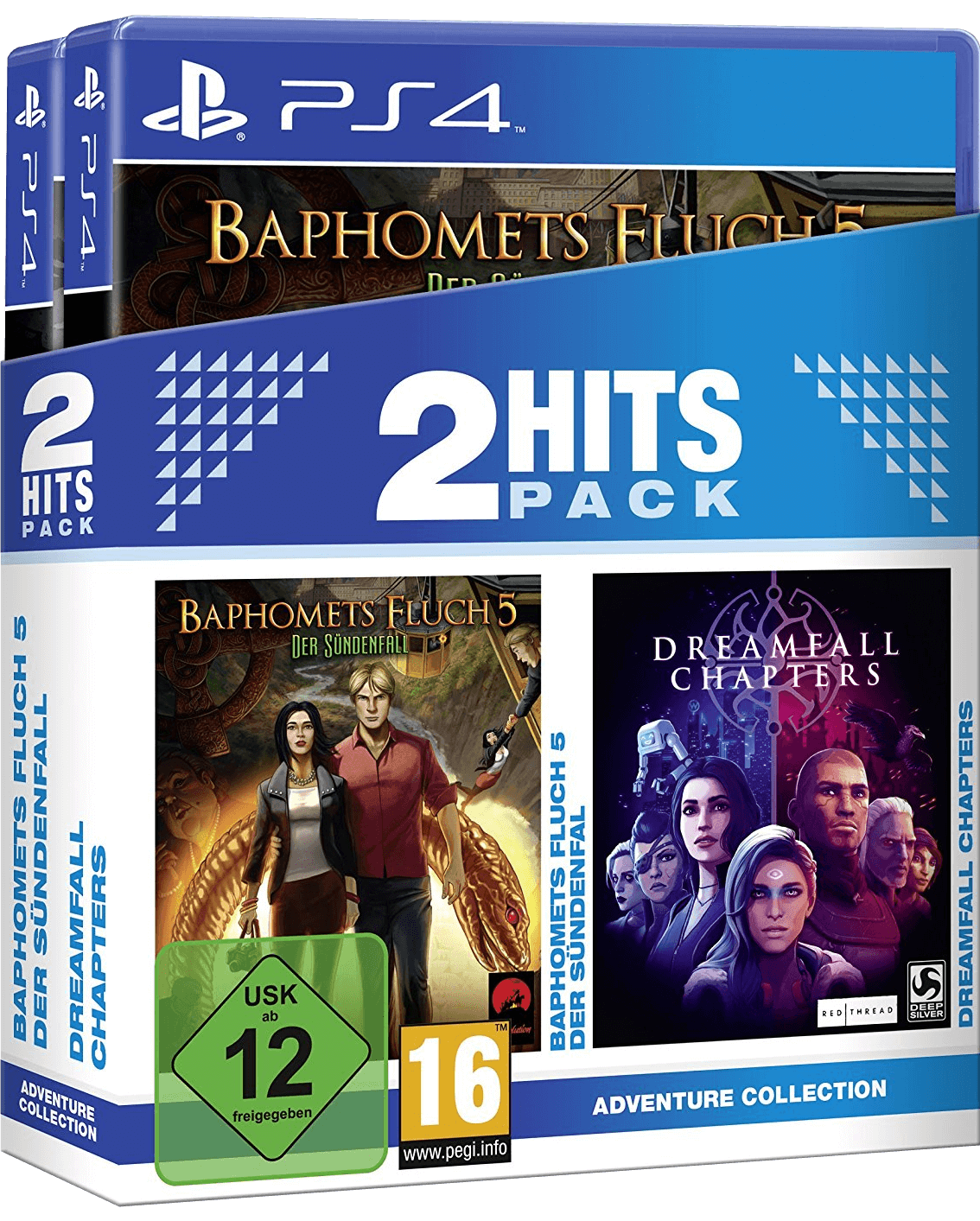 2 Hits Pack - Baphomets Fluch 5: Der Sündenfall + Dreamfall Chapters