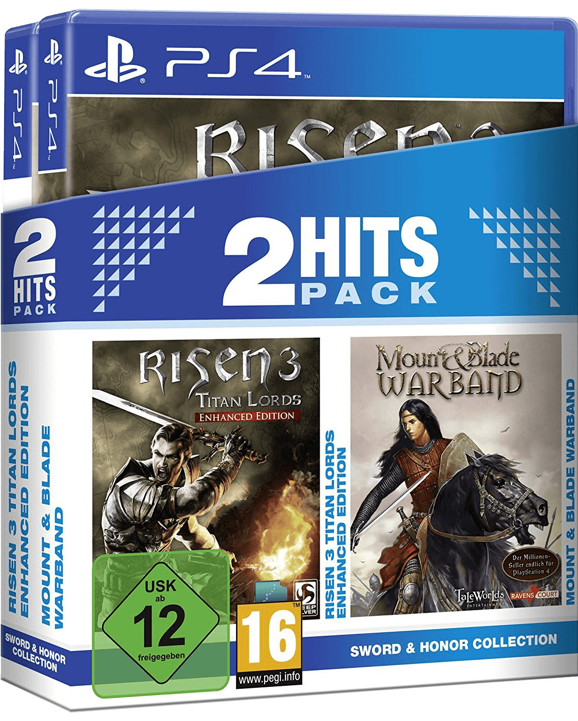 2 Hits Pack - Risen 3 Enhanced Edition + Mount & Blade Warband