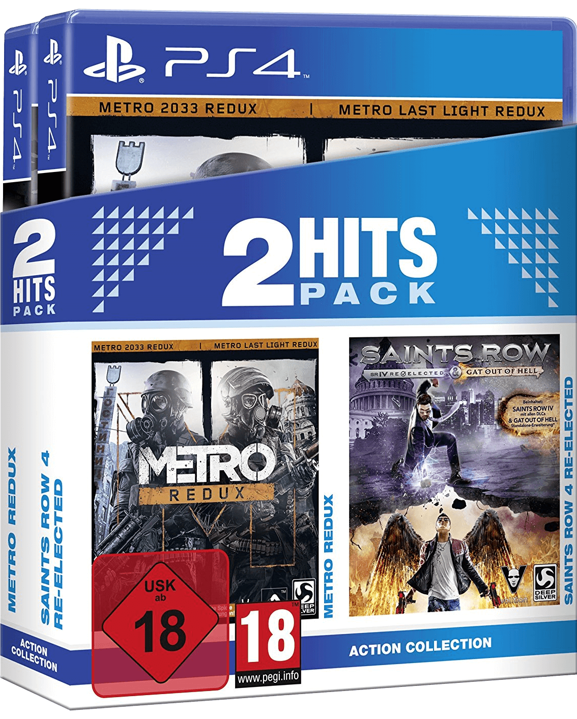 2 Hits Pack - Metro Redux + Saints Row IV Re-Elected