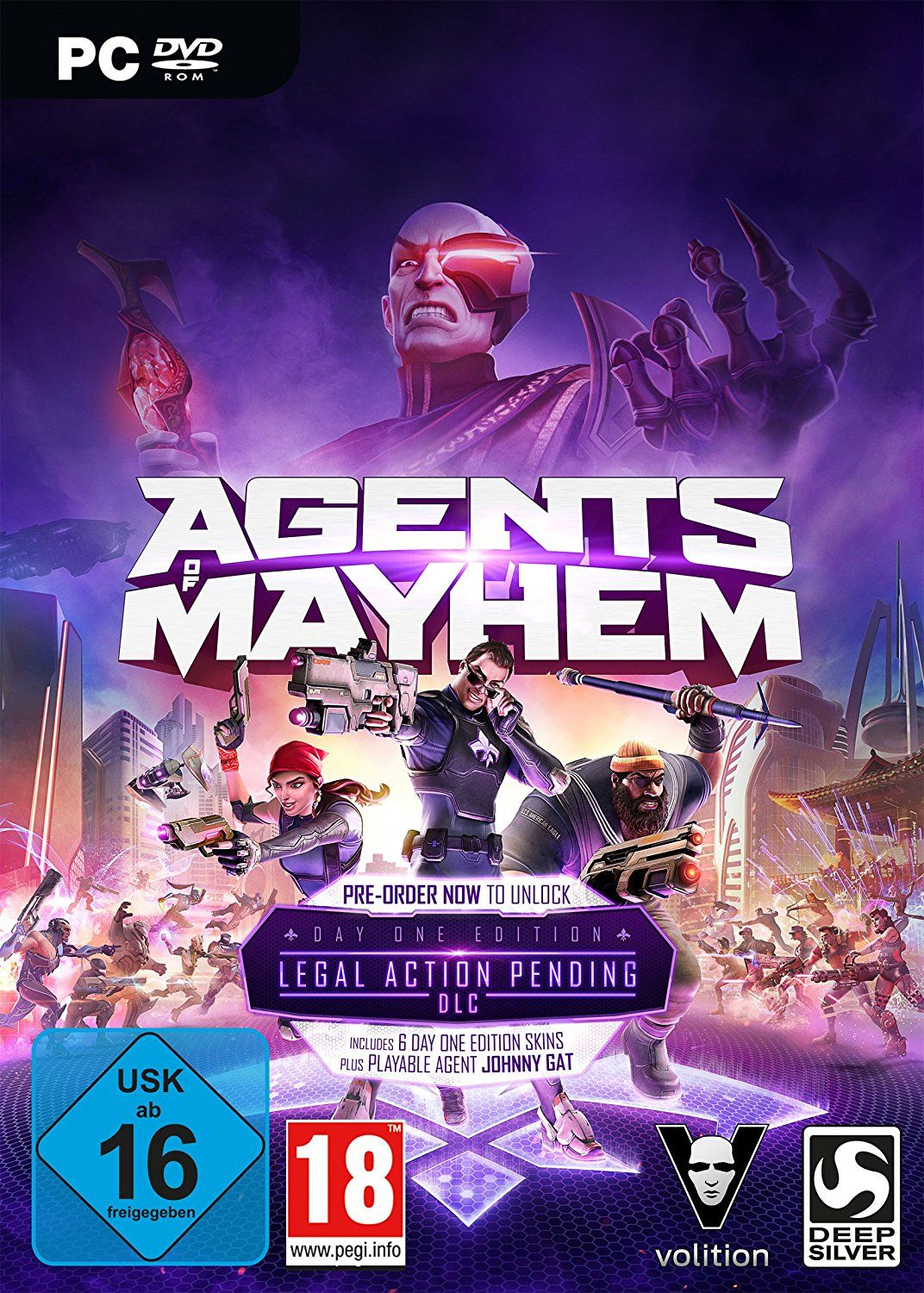 Agents of Mayhem - DayOne Edition