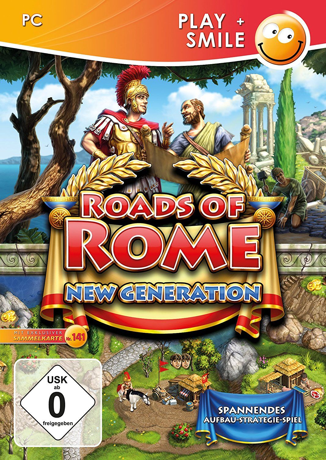 Roads of Rome: New Generation