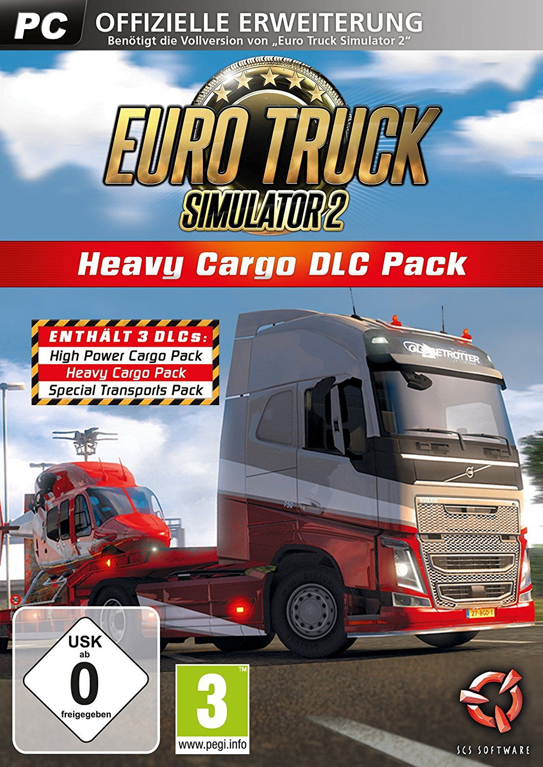 Euro Truck Simulator 2 - Heavy Cargo Edition - DLC Pack (DLC only)