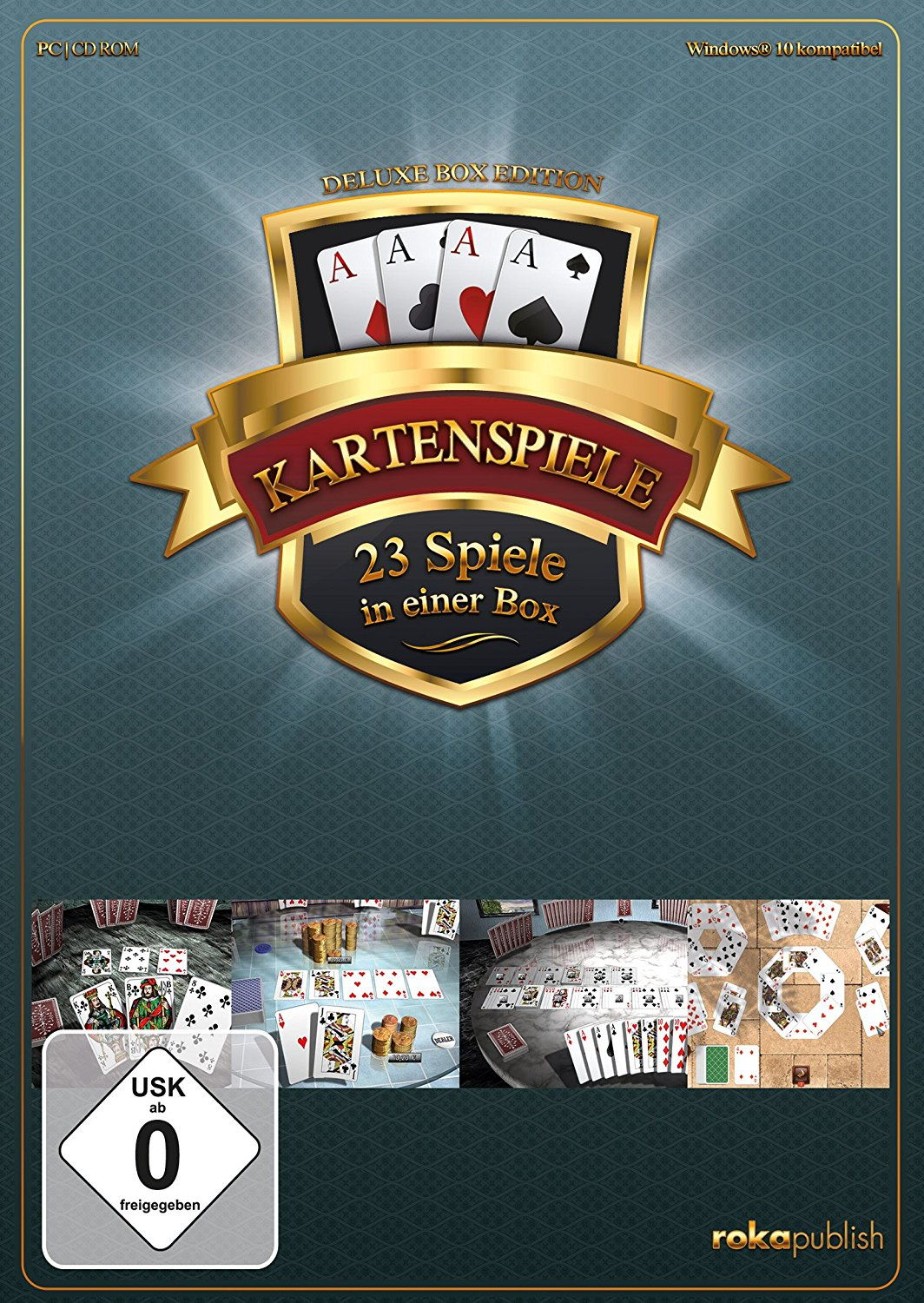 Kartenspiele 23 in 1 - Deluxe Box Edition