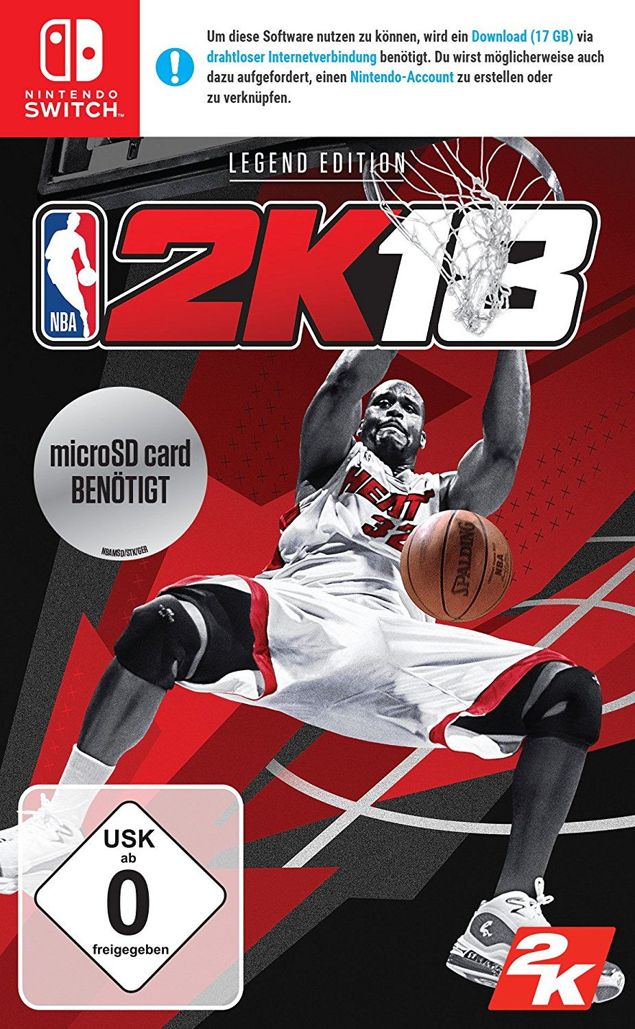 NBA 2K18 - Legend Edition - Switch