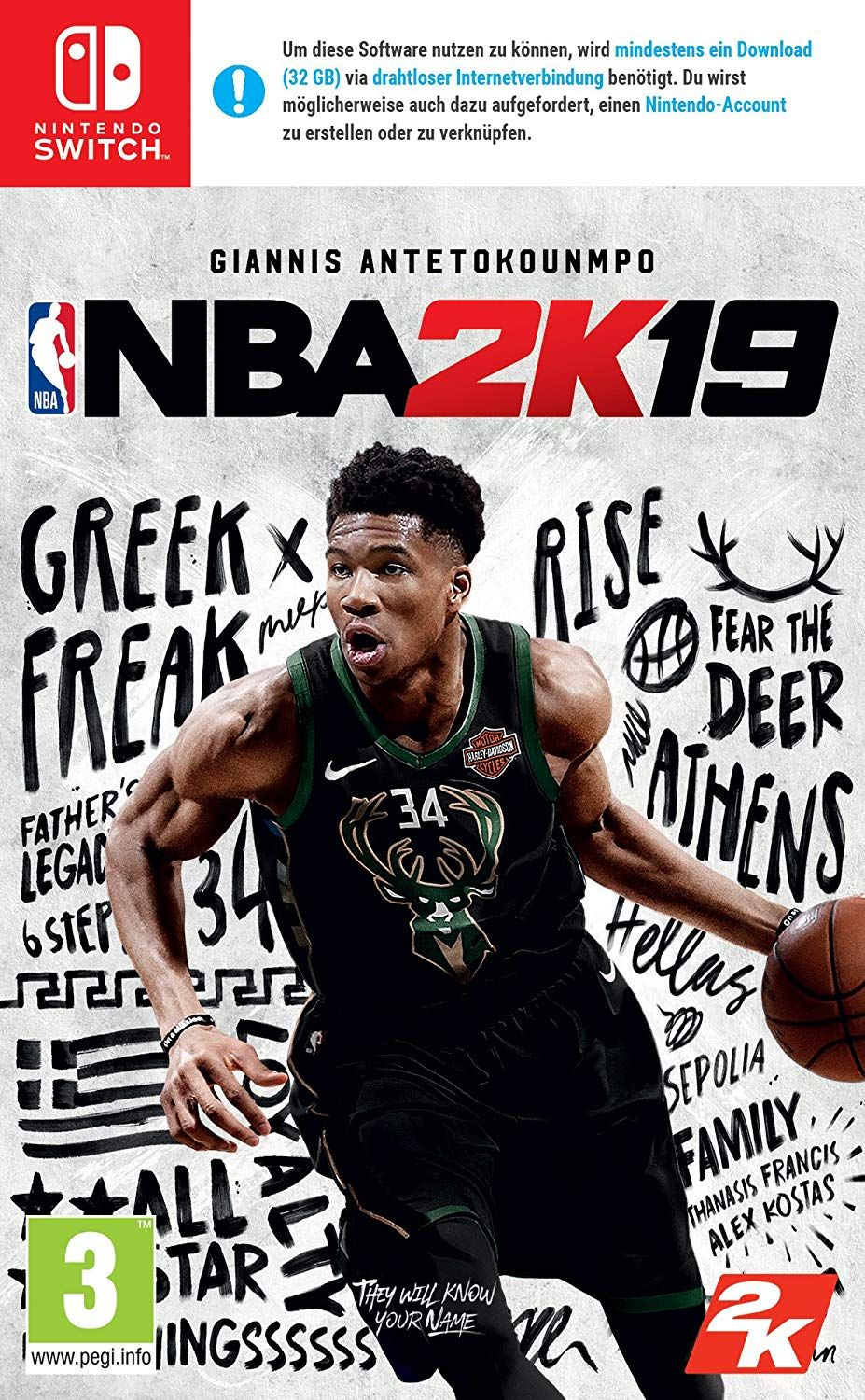 NBA 2K19 [AT-PEGI]