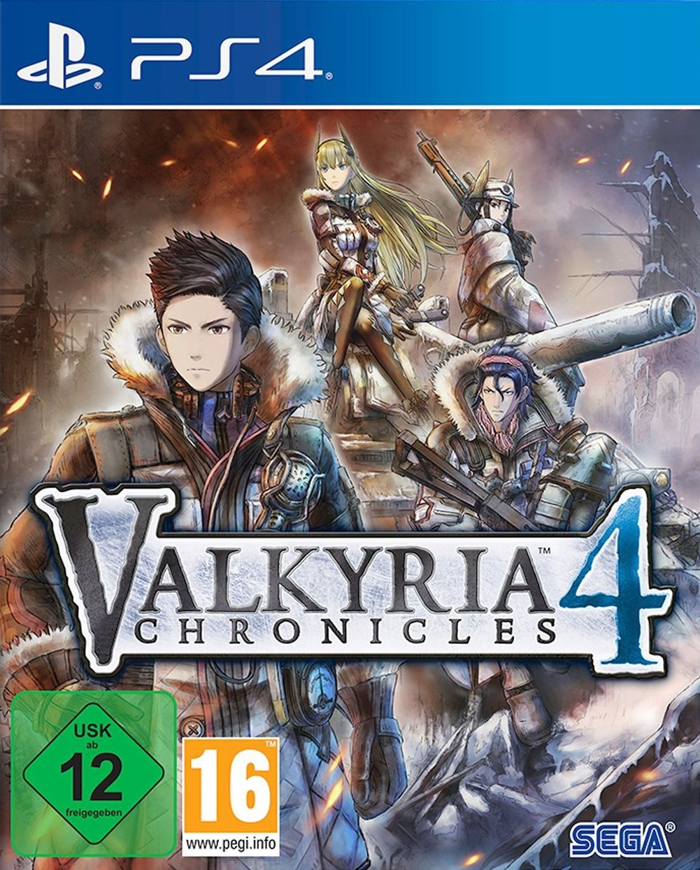 Valkyria Chronicles 4 - Limited Edition