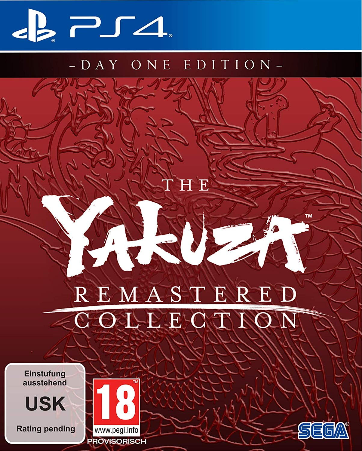 The Yakuza Remastered Collection - DayOne Edition