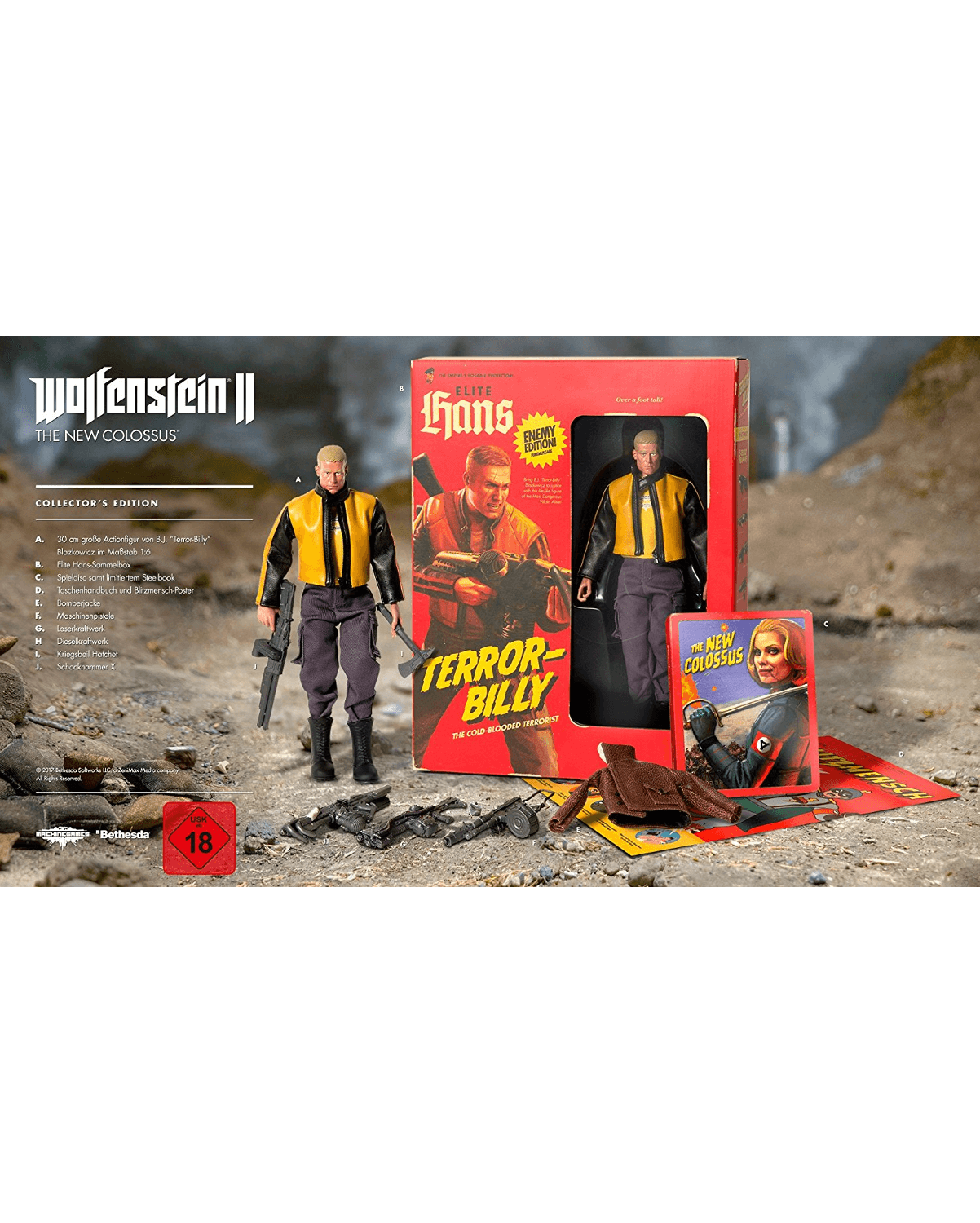 Wolfenstein II: The New Colossus - Collector´s Edition