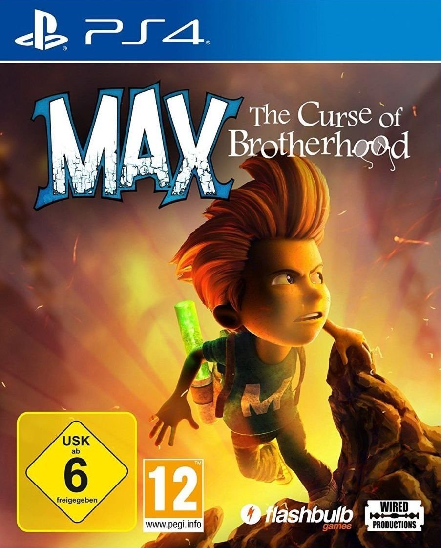 Max: The Curse of the Brotherhood