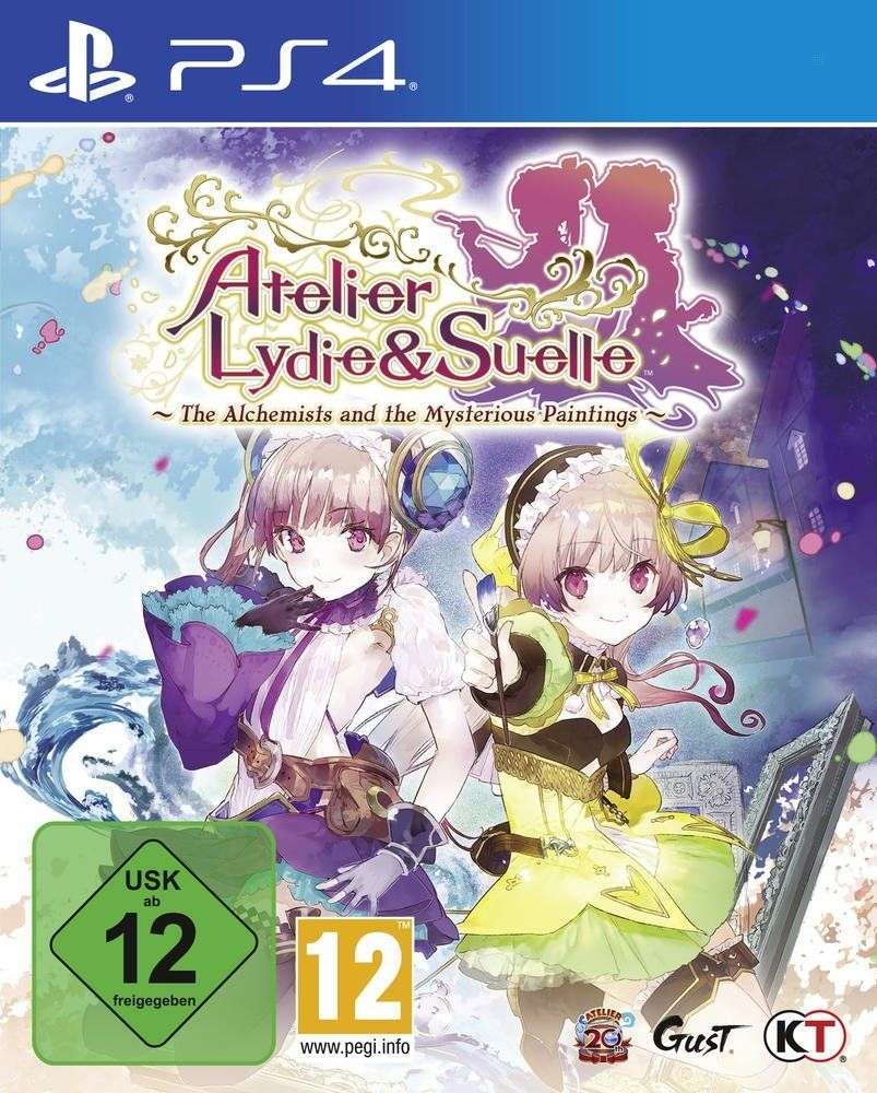 Atelier Lydie & Suelle: The Alchemist & the Mysterious Paintings